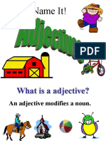Name the Adjectives (3)