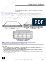 HP StorageWorks D2D Backup Systems