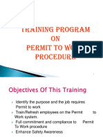 PTW Training Package