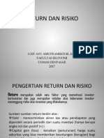 Return Dan Risiko-2