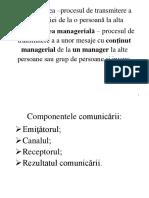 Scheme Managementul Comunicarii