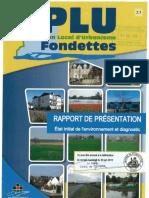 2.1-Rapport de Presentation Etat Initial de l Environnement Et Diagnostic