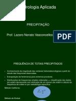 Precipitação VEGs
