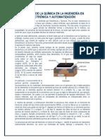 RELACIÓN DE LA QUÍMICA EN LA INGENIERÍA EN ELECTRÓNICA Y AUTOMATIZACIÓN.docx