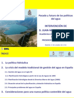 12.10.29 Intervencion JMVM Reflexiones Agua FINALppt