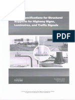 LFRD Specification for Strucutral Supports for Highway Signs, Luminaries, And Traffic Signals