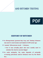 Bitumen and Bitumen Testing