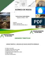 Clase 1 Mecanica de Rocas Introduccion
