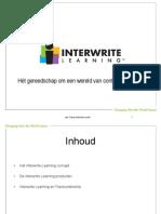 InterwriteLearningOnderwijsoplossingen