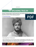 It is Said That a Discussion Was Once Memorized by a Single Mind by Vivekananda. Who is the Name of the Book or Its Author - Google Search