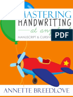 Mastering Handwriting