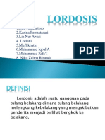 Ppt Lordosis