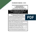 Licitacion Publica Transformadores 03 2008