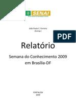 Relatório Semana do Conhecimento 2009