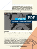Current Affairs for IAS Exam (UPSC Civil Services) | Fact sheet Dravidian movement | Best Online IAS Coaching by Prepze