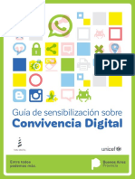 Guía de Sensibilización sobre Convivencia Digital-UNESCO