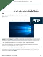 Como Desativar as Atualizações Automáticas Do Windows 10 - Tecnoblog