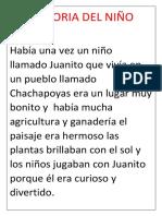 La Historia Del Niño Andino
