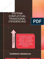 Sistema Conflictual Tradicional (Tendencias)