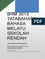 BM3013 Tatabahasa BM