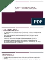 Macro Estructura y Microestructura
