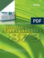 biodisel rancimet