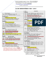 Agenda MCEO 2017