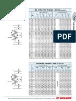 DIN13 ISO Metric Threads En