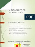 Fundamentos de Geoestadistica