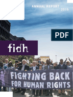 FIDH 2016 Annual Report