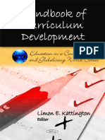 Handbook of Curriculum Development