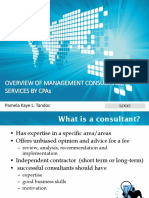 Chap 1 Overview of Mgt Consultance Services