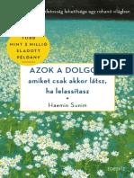 HAEMIN SUNIM ÉS YOUNGCHEOL LEE - AZOK A DOLGOK