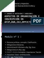 1° Jornadas de asociaciones y fundaciones.Power
