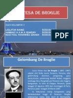 Hipotesa de Broglie
