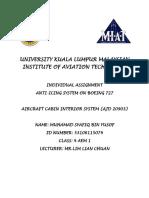 University Kuala Lumpur Malaysian Institute of Aviation Technology