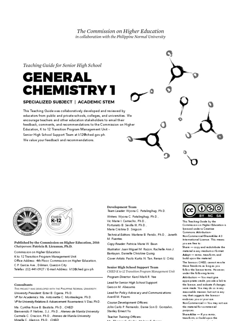 general chemistry 1 pdf chemical compounds gases rh scribd com General Chemistry Lab Manual 2017 2018 Organic Chemistry Lab Survival Manual
