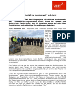 """+++ Pressemeldung - Projekttreffen """"Plastikfreie Inselumwelt auf Juist +++"""