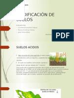 Acidificación de Suelos
