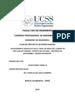 Plan de Proyecto - Perez Tarrillo, Javier