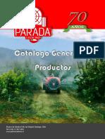 01 - Catalogo Gral de Productos PARADA