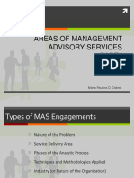 Chap 2 Areas of MAS Part 1