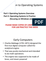 03 Introduction to Operating Systems