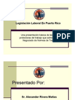 Legislacion Laboral en el Trabajo