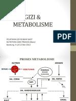 Zat Gizi Dan Metabolisme