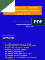Prof. Villas - Metalogênese Dos Depósitos Auríferos Da Província Mineral de Carajás