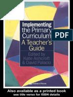 Implementarea Curriculum-ului