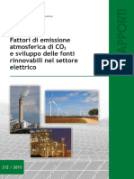 CO2 Emissions Electrical Sector Italy