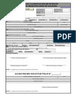 Formulario Patentes Internet