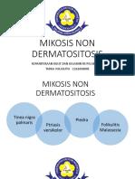 Mikosis Non Dermatositosis